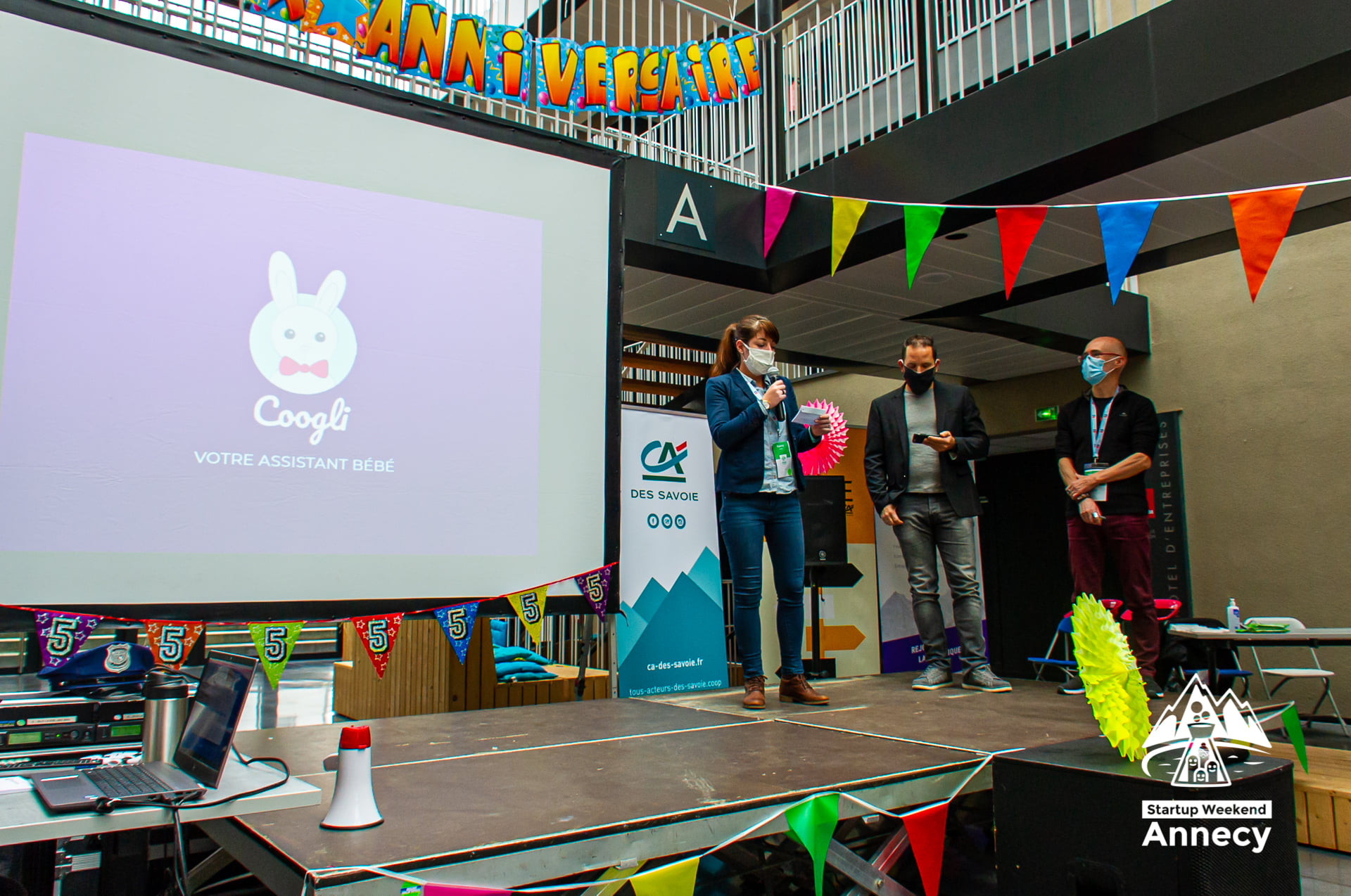 Application mobile jeunes parents, startup week-end annecy, Coogli